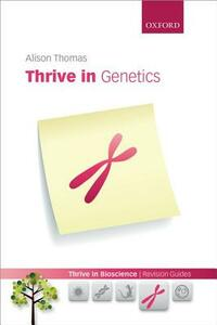 Thrive in Genetics - Alison Thomas - cover