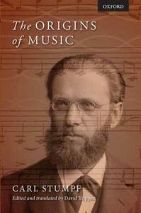 The Origins of Music - Carl Stumpf - cover