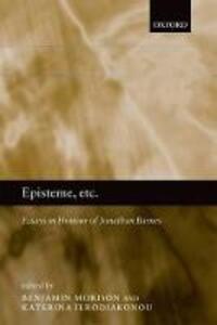 Episteme, etc.: Essays in Honour of Jonathan Barnes - cover