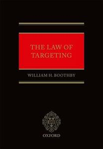 The Law of Targeting - William H. Boothby - cover