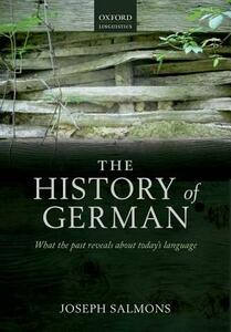 A History of German - Joseph Salmons - cover