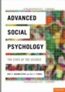 Ebook in inglese Advanced Social Psychology: The State of the Science -, -