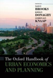 Foto Cover di Oxford Handbook of Urban Economics and Planning, Ebook inglese di  edito da Oxford University Press