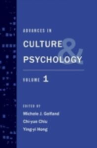Ebook in inglese Advances in Culture and Psychology: Volume 1 -, -