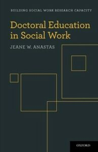 Ebook in inglese Doctoral Education in Social Work Anastas, Jeane W.