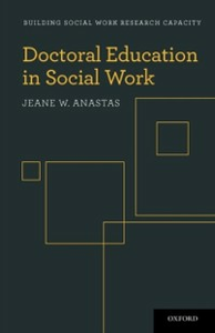 Ebook in inglese Doctoral Education in Social Work Anastas, Jeane W.