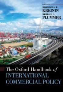 Foto Cover di Oxford Handbook of International Commercial Policy, Ebook inglese di  edito da Oxford University Press
