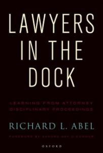 Ebook in inglese Lawyers in the Dock Abel, Richard L.