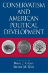 Conservatism and American Political Development