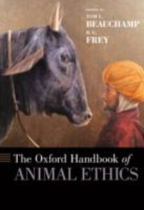 Ebook in inglese Oxford Handbook of Animal Ethics -, -