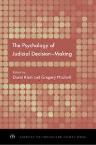 Ebook in inglese Psychology of Judicial Decision Making