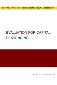 Ebook in inglese Evaluation for Capital Sentencing Cunningham, Mark