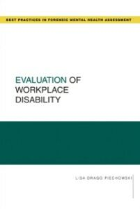 Ebook in inglese Evaluation of Workplace Disability Piechowski, Lisa Drago