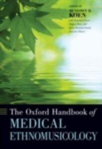 Ebook in inglese Oxford Handbook of Medical Ethnomusicology