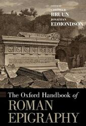 Oxford Handbook of Roman Epigraphy