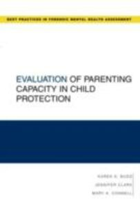 Ebook in inglese Evaluation of Parenting Capacity in Child Protection Budd, Karen S. , Clark, Jennifer R. , Connell, Mary