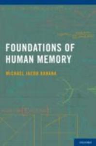 Ebook in inglese Foundations of Human Memory Kahana, Michael Jacob