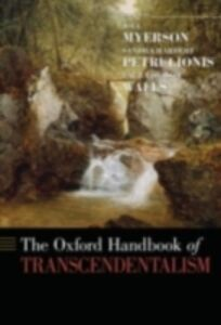 Foto Cover di Oxford Handbook of Transcendentalism, Ebook inglese di  edito da Oxford University Press