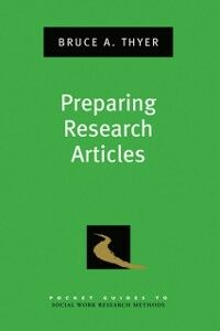 Ebook in inglese Preparing Research Articles Thyer, Bruce A.