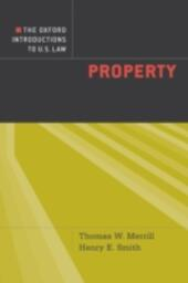 Oxford Introductions to U.S. Law: Property