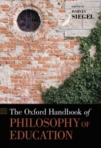 Ebook in inglese Oxford Handbook of Philosophy of Education Siegel, Harvey