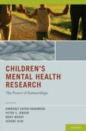 Children's Mental Health Research: The Power of Partnerships