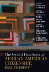 Oxford Handbook of African American Citizenship, 1865-Present