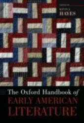 Oxford Handbook of Early American Literature