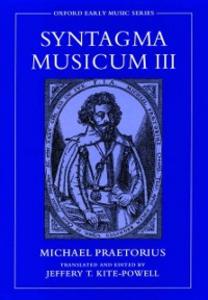 Ebook in inglese Syntagma Musicum III Praetorius, Michael