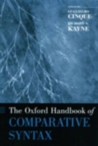Ebook in inglese Oxford Handbook of Comparative Syntax