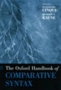 Ebook in inglese Oxford Handbook of Comparative Syntax -, -