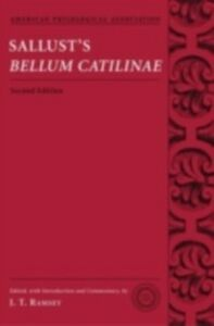 Foto Cover di Sallust's Bellum Catilinae, Ebook inglese di  edito da Oxford University Press