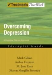 Overcoming Depression: A Cognitive Therapy Approach Therapist Guide