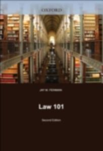 Foto Cover di Law 101, Ebook inglese di Jay M. Feinman, edito da Oxford University Press, UK
