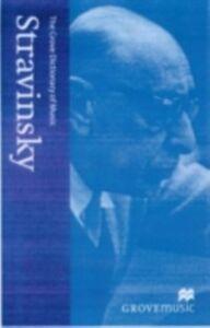 Ebook in inglese New Grove Stravinsky -, -