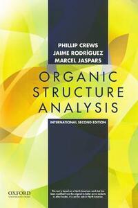 Organic Structure Analysis - Phillip Crews,Jaime Rodriguez,Marcel Jaspars - cover