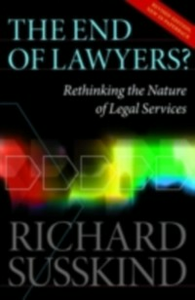 Ebook in inglese End of Lawyers? SUSSKIN, OBE RICHARD