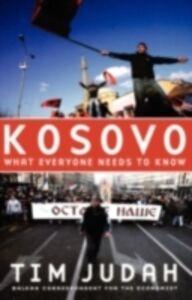 Foto Cover di Kosovo: What Everyone Needs to KnowRG, Ebook inglese di Tim Judah, edito da Oxford University Press