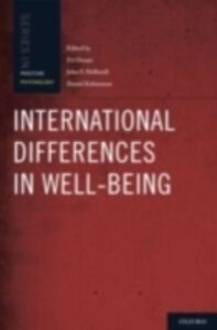 Ebook in inglese International Differences in Well-Being Diener, Ed , Helliwell, John , Kahneman, Daniel