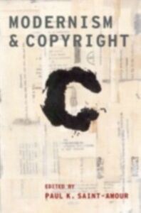 Ebook in inglese Modernism and Copyright