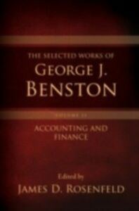 Ebook in inglese Selected Works of George J. Benston, Volume 1: Banking and Financial Services