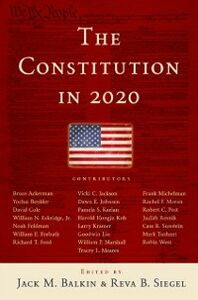 Ebook in inglese Constitution in 2020