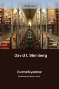 Ebook in inglese Burma/Myanmar:What Everyone Needs to Know Steinberg, David I.
