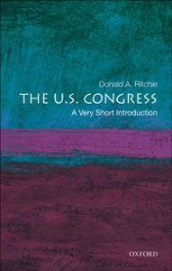 Ebook in inglese U.S. Congress: A Very Short Introduction Ritchie, Donald A.