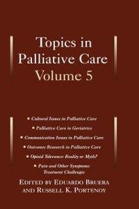 Foto Cover di Topics in Palliative Care: Volume 5, Ebook inglese di  edito da Oxford University Press