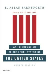 Foto Cover di Introduction to the Legal System of the United States, Fourth Edition, Ebook inglese di E. Allan Farnsworth, edito da Oxford University Press