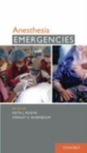 Foto Cover di Anesthesia Emergencies, Ebook inglese di  edito da Oxford University Press