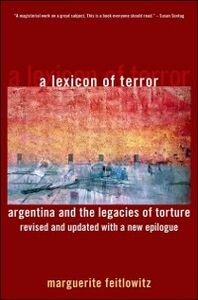 Foto Cover di Lexicon of Terror: Argentina and the Legacies of Torture, Revised and Updated with a New Epilogue, Ebook inglese di Marguerite Feitlowitz, edito da Oxford University Press