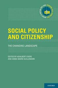 Social Policy and Citizenship: The Changing Landscape - cover
