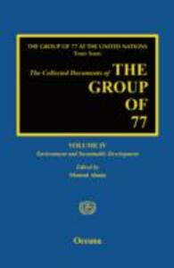 The Group of 77 at the United Nations: Environment and Sustainable Development - cover